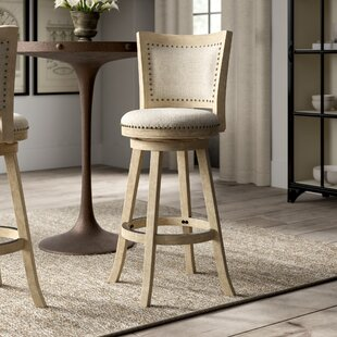 Joanne 29 Round Swivel Bar Stool Greyleigh