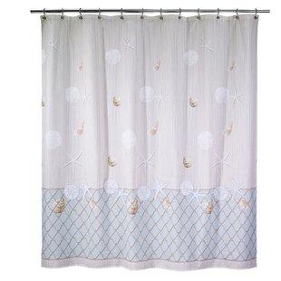 Buying Seaglass Cotton Shower Curtain ByAvanti Linens