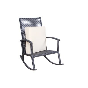 Alcott Hill Hildegarde Rocking Chair with Cushions