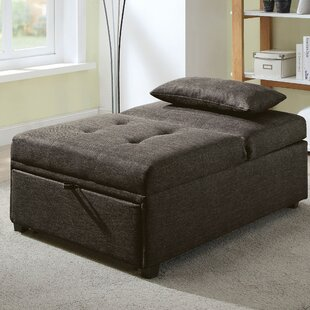 Top Reviews Santa Clarita Lilian Futon Ottoman By Brayden Studio
