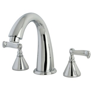 Kingston Brass Roman Double Handle Roman Tub Faucet