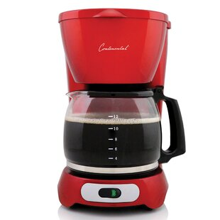 12-Cup Metallic Coffee Maker