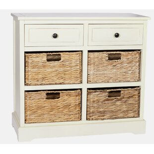 Carmen 6 Drawer Storage Unit  sc 1 st  Wayfair & 4 Drawer Wicker Storage Units | Wayfair.co.uk