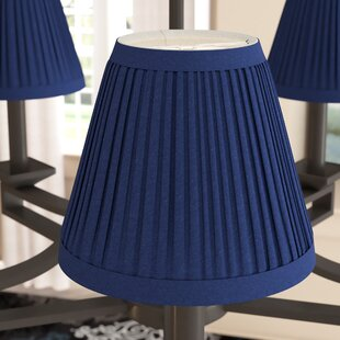 Pleat 6 Silk Empire Lamp Shade