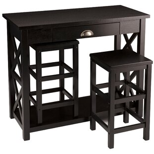 Review Colfax Dining Set With 2 Chairs