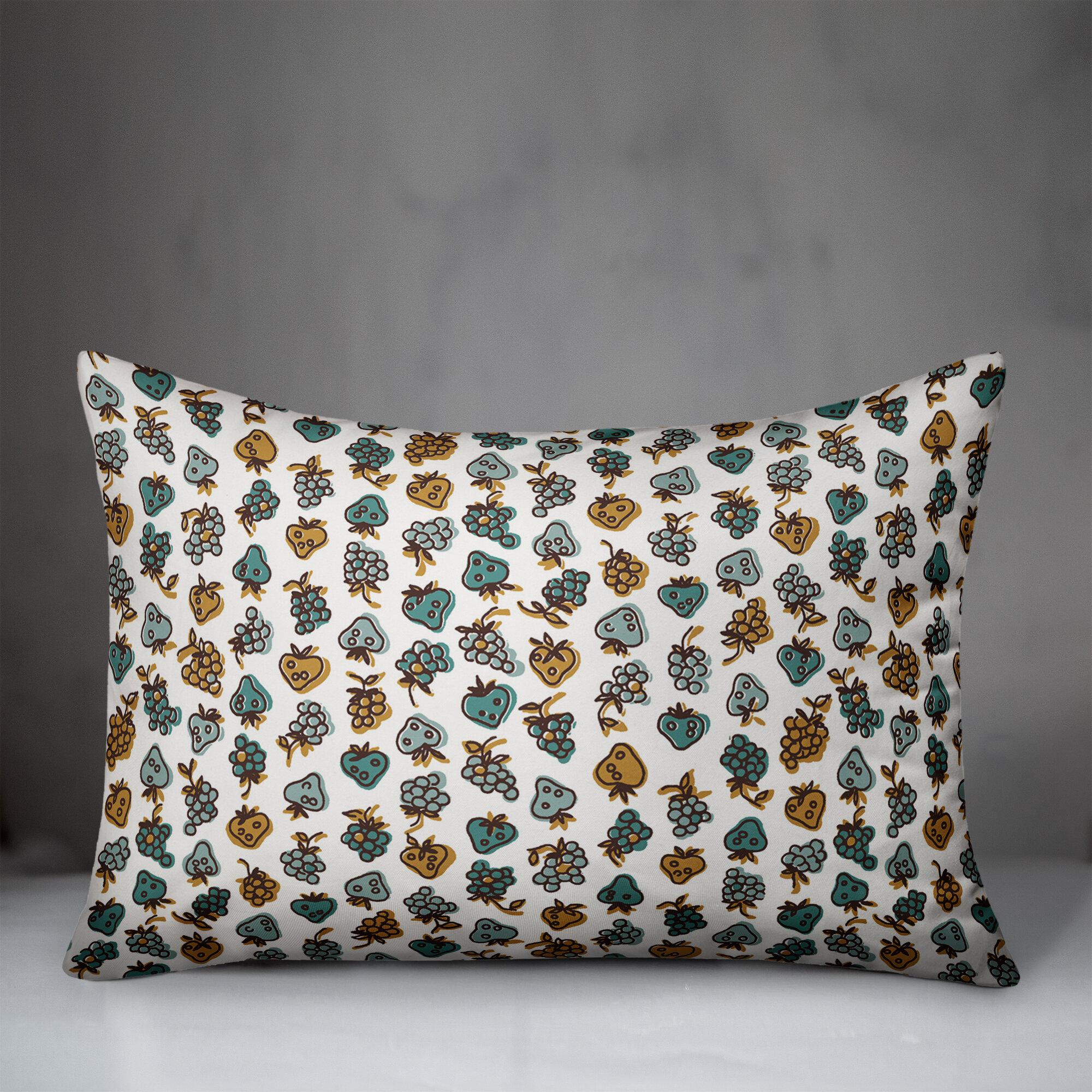 Ebern Designs Xochitl Fruit Lumbar Pillow Wayfair