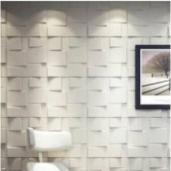 Corrigan Studio 20 X 20 Vinyl Wall Paneling In Gloss White Wayfair