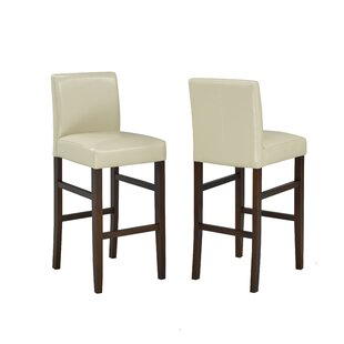 Schroeders 24 Bar Stool (Set of 2) by Charlton Home