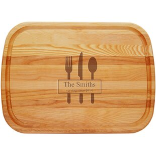 Lancaster Personalized Wood General Chopping Board By Carved Solutions