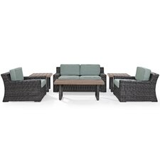 Linwood 6 Piece Deep Seating Group with Cushion