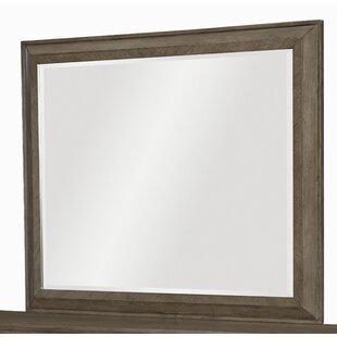 Whicker Rectangular Dresser Mirror