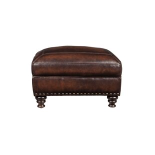 Darby Home Co Trecartin Leather Ottoman