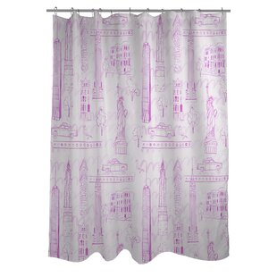 Love from NYC Single Shower Curtain