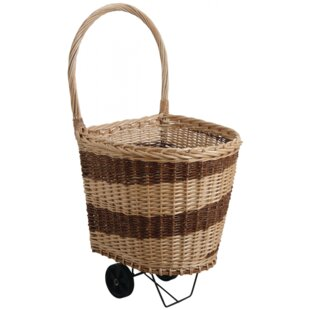 Marshfield Willow Log Carrier By August Grove