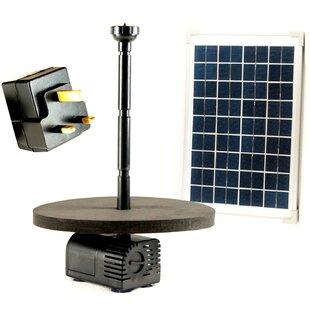Acrylic Solar Pond Fountain Pump By Symple Stuff