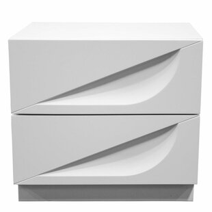 BestMasterFurniture Madrid 2 Drawer Night..