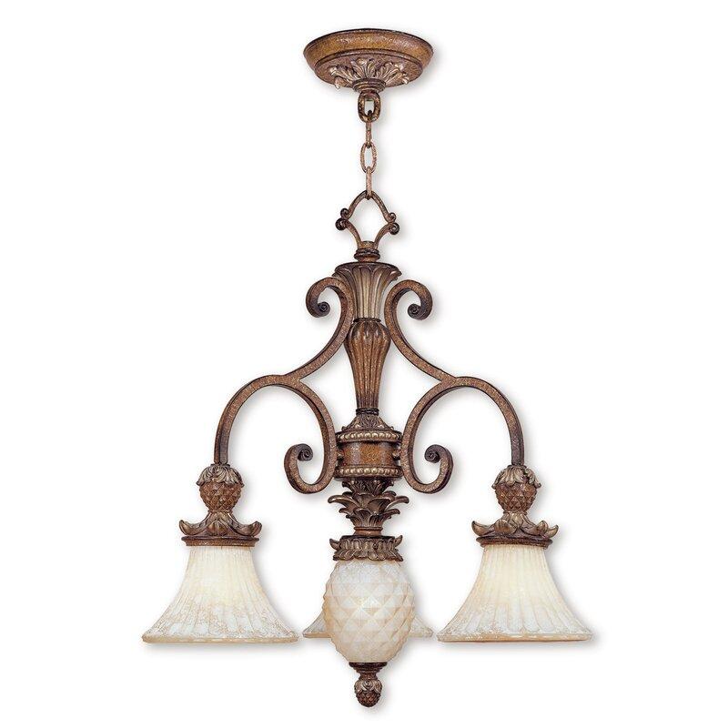 Astoria Grand Scotland 4 Light Shaded Classic Traditional Chandelier Wayfair