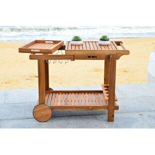 Galien Tea Bar Cart by Charlton Home