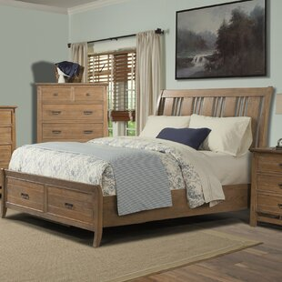 Huber Storage Sleigh Bed by Loon Peak