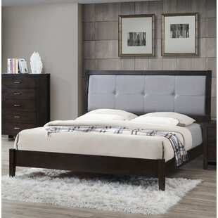 Upholstered Panel Bed by Best Quality Furniture Modern
