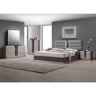 Anshul Modern Wood Platform Configurable Bedroom Set by Orren Ellis