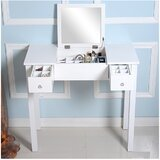 Troutman Vanity with Mirror by Winston Porter