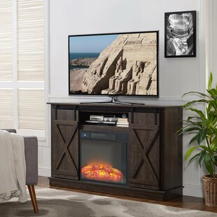 Quance TV Stand for TVs up to 77 with Fireplace