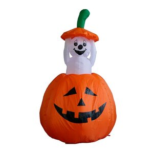 halloween inflatable pumpkin ghost decoration - Metal Halloween Decorations