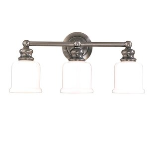 Cave 3-Light Vanity Light by Charlton Home