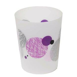 Evideco Valentine 1.2 Gallon Waste Basket