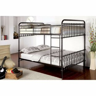 Fomby Twin Over Twin Bunk Bed by Harriet Bee