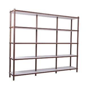 Roquefort Bi-Color Library Bookcase
