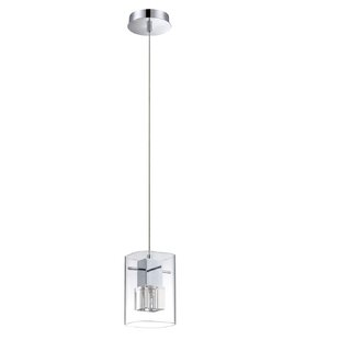 Hodgkins 1-Light Square/Rectangle Pendant by Orren Ellis