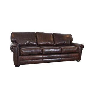 Shop Fenway Studio Leather Sofa by Westland and Birch