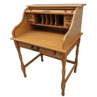 Inexpensive Lonie Roll Top Secretary Desk By Chelsea Home