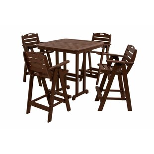 POLYWOOD® Nautical 5-Piece Ba..
