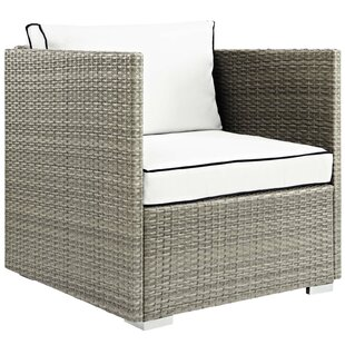 Heinrich Outdoor Patio Chair with Cushion