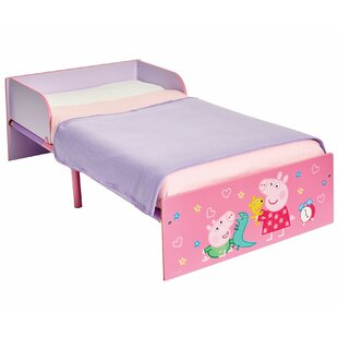 Peppa Pig Kids Toddler Frame Bed By Peppa Pig