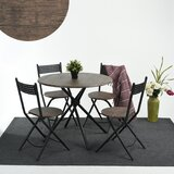 Burdett 5 Piece Dining Set by Wrought Studio™