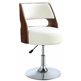 Bulwell Adjustable Height Bar Swivel Stool
