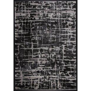 Price Check Stretford Silver/Black Area Rug ByWilliston Forge