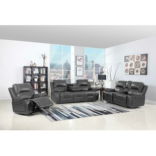 Trower Reclining 3 Piece Living Room Set by Red Barrel Studio
