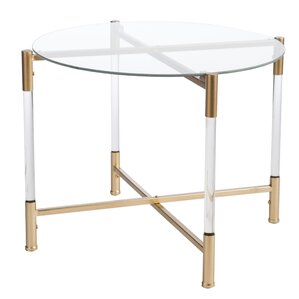 Robson Acrylic Round End Table