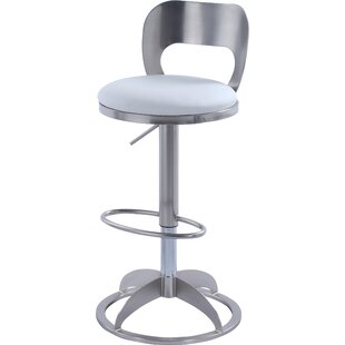 Boz Adjustable Height Swivel Bar Stool Orren Ellis