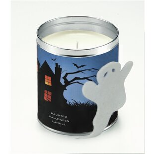 Haunted Halloween Pumpkin Pie Scented Jar Candle by The Holiday Aisle