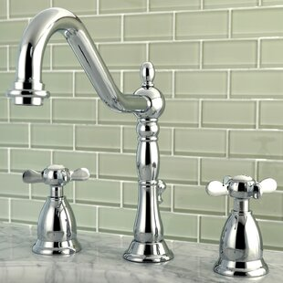 Kingston Brass Essex Widespread Lavatory Faucet with Drain Assembly
