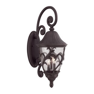Bertha 3-Light Outdoor Wall Lantern