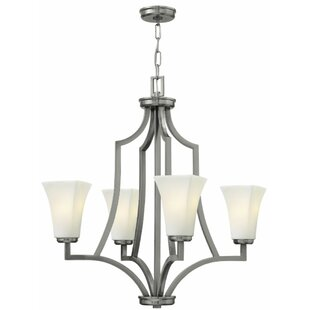 Hinkley Lighting Spencer 4-Light Shaded Chandelier
