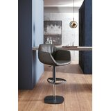 Post Adjustable Height Swivel Bar Stool by YumanMod