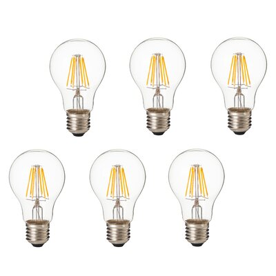 Artiva USA 8 Watt (75 Watt Equivalent), A19 LED, Dimmable Light Bulb, Warm White (3000K) E26/Meduim (Standard) Base